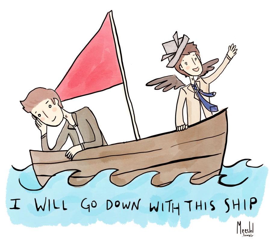 I Will Go Down With This Ship by mooshl
