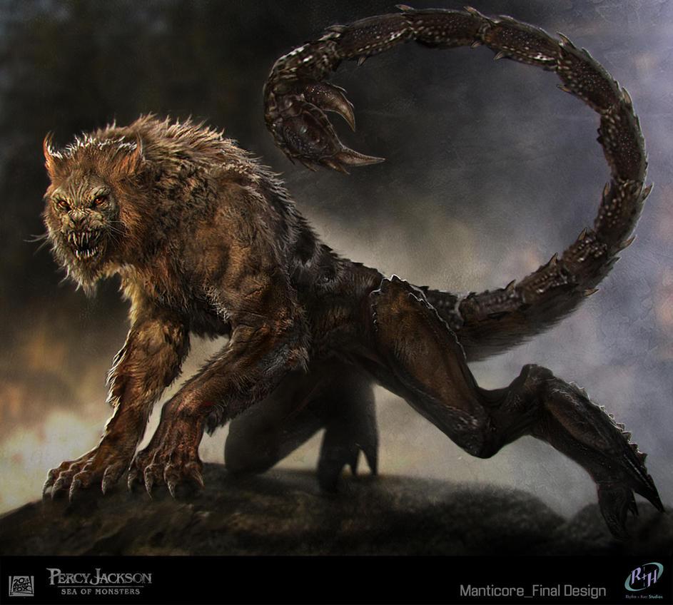 Percy Jackson Manticore by SebastianMeyer