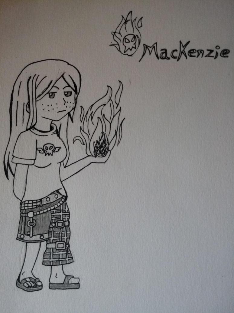 Mackenzie [OC: AuraShaman] by BETAUnknow