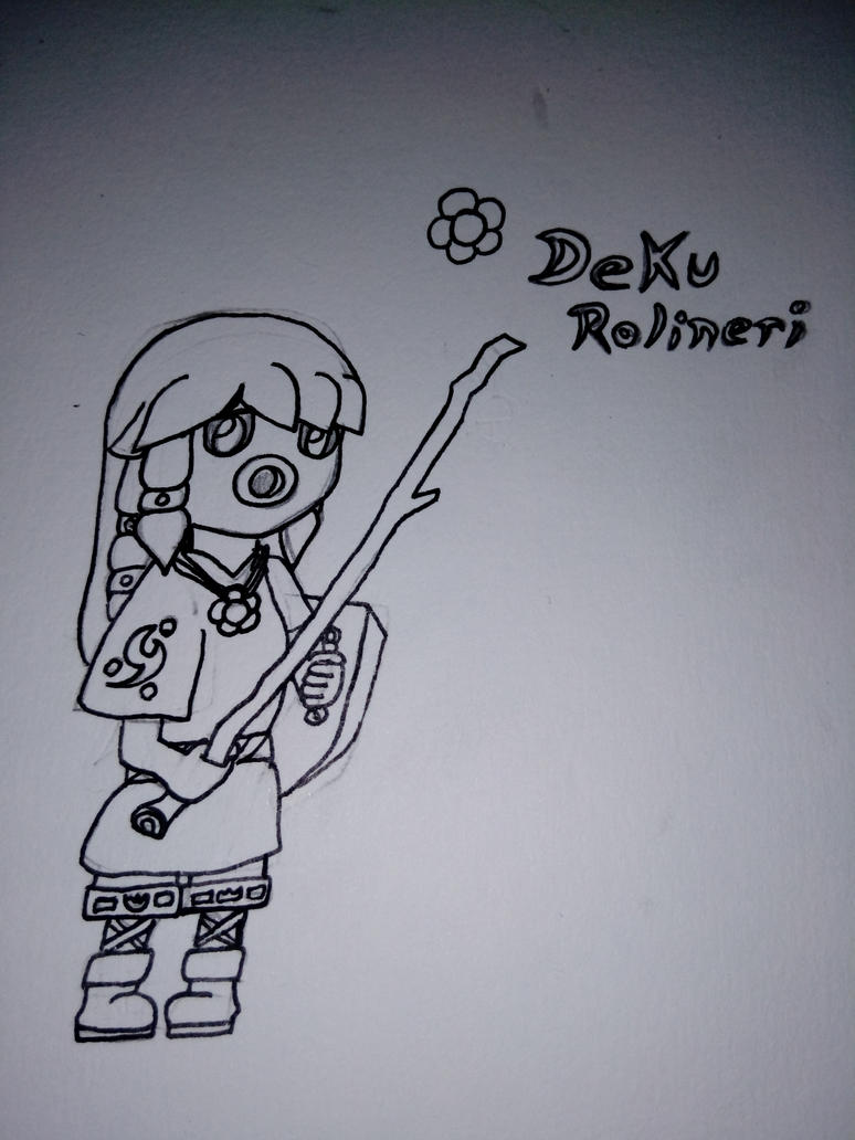 Deku Rolineri [TMoR: URA Zelda arc] by BETAUnknow