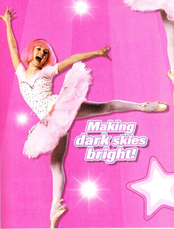 lazytown ballerina stephanie by wliiamg on deviantart