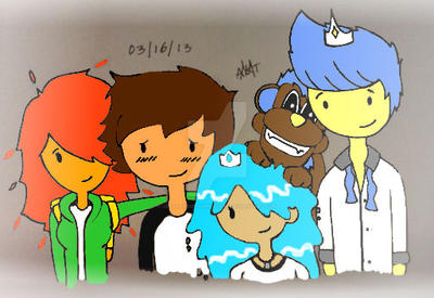 The Whole Gang by CreateYour-Own-Story