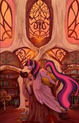 Bibliophilly by Saint-Juniper