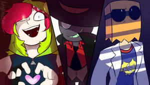 Three Weirdos by Angrimator