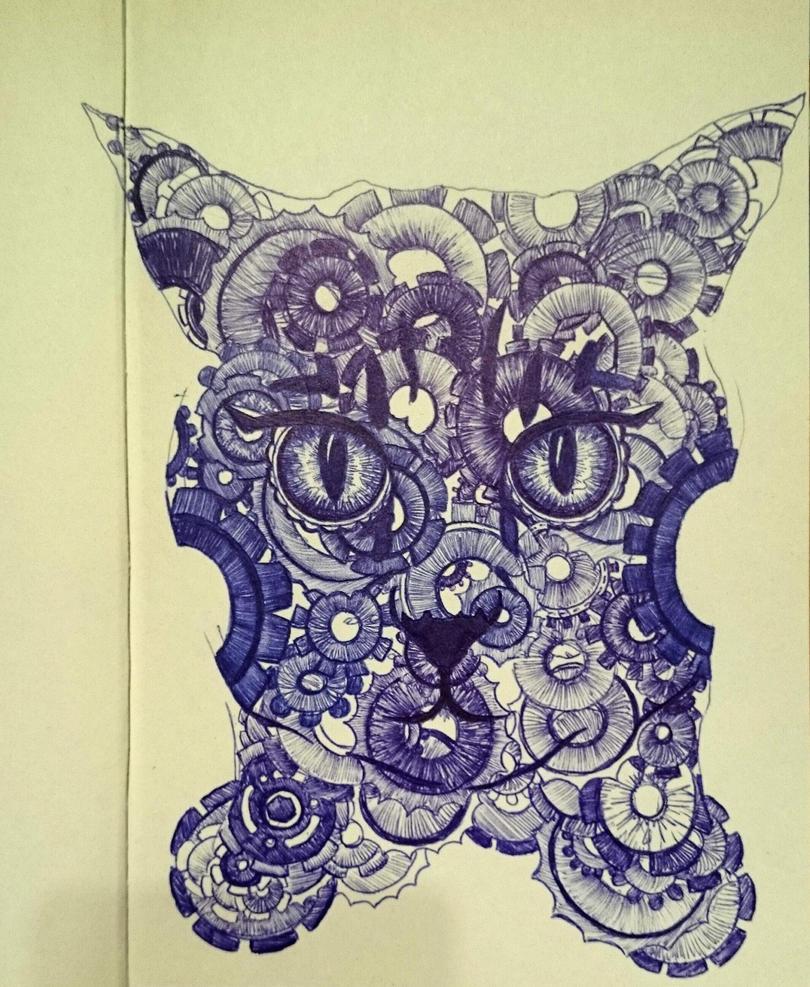 Gear cat by LO3SJ3