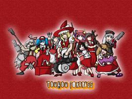 Touhou Fortress by furiousrockets