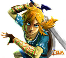 Zelda: Breath of the Wild (no bg) by Reiup