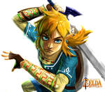 Zelda: Breath of the Wild (no bg)