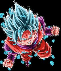 Goku Super Saiyajin Blue Kaioken by arbiter720