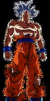 Goku Ultra Instinto Dominado by arbiter720