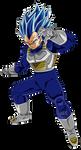 Vegeta Super Saiyajin Blue Evolution