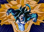 Goku Ssj4 [Golpe Explosivo Del Dragon]