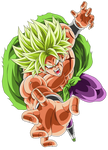 Broly Legendary Super Saiyajin