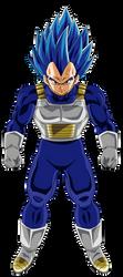 Vegeta Super Saiyajin Blue Full Power by arbiter720