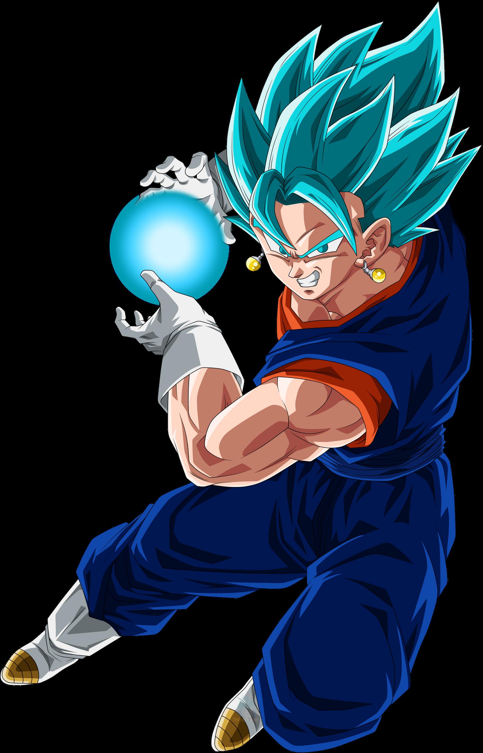 Vegetto Super Saiyajin Blue by arbiter720 on DeviantArt