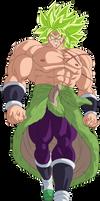Broly Legendary Super Saiyajin by arbiter720