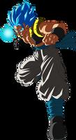 Gogeta Super Saiyajin Blue by arbiter720