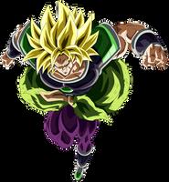 Broly Super Saiyajin by arbiter720