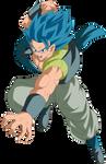 Gogeta Blue by arbiter720