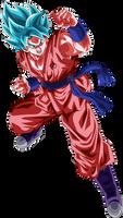 Goku Super Saiyajin Blue Kaioken