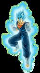 Vegetto Super Saiyajin Blue [Dokkan Battle] by arbiter720