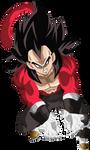 Vegeta Xeno Super Saiyajin 4 by arbiter720