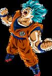 Goku Super Saiyajin Blue by arbiter720