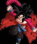 Goku Xeno Super Saiyajin 4