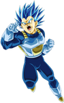 Vegeta Super Saiyajin Blue [Evolution] by arbiter720