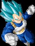 Vegeta Super Saiyajin Blue by arbiter720
