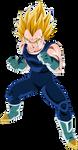 Super Saiyajin 2 Vegeta by arbiter720