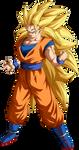 Goku Super Saiyajin 3 by arbiter720