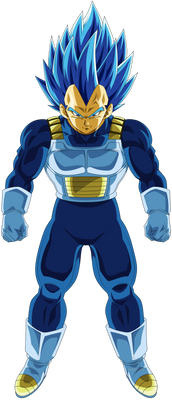 Vegeta Super Saiyajin Blue