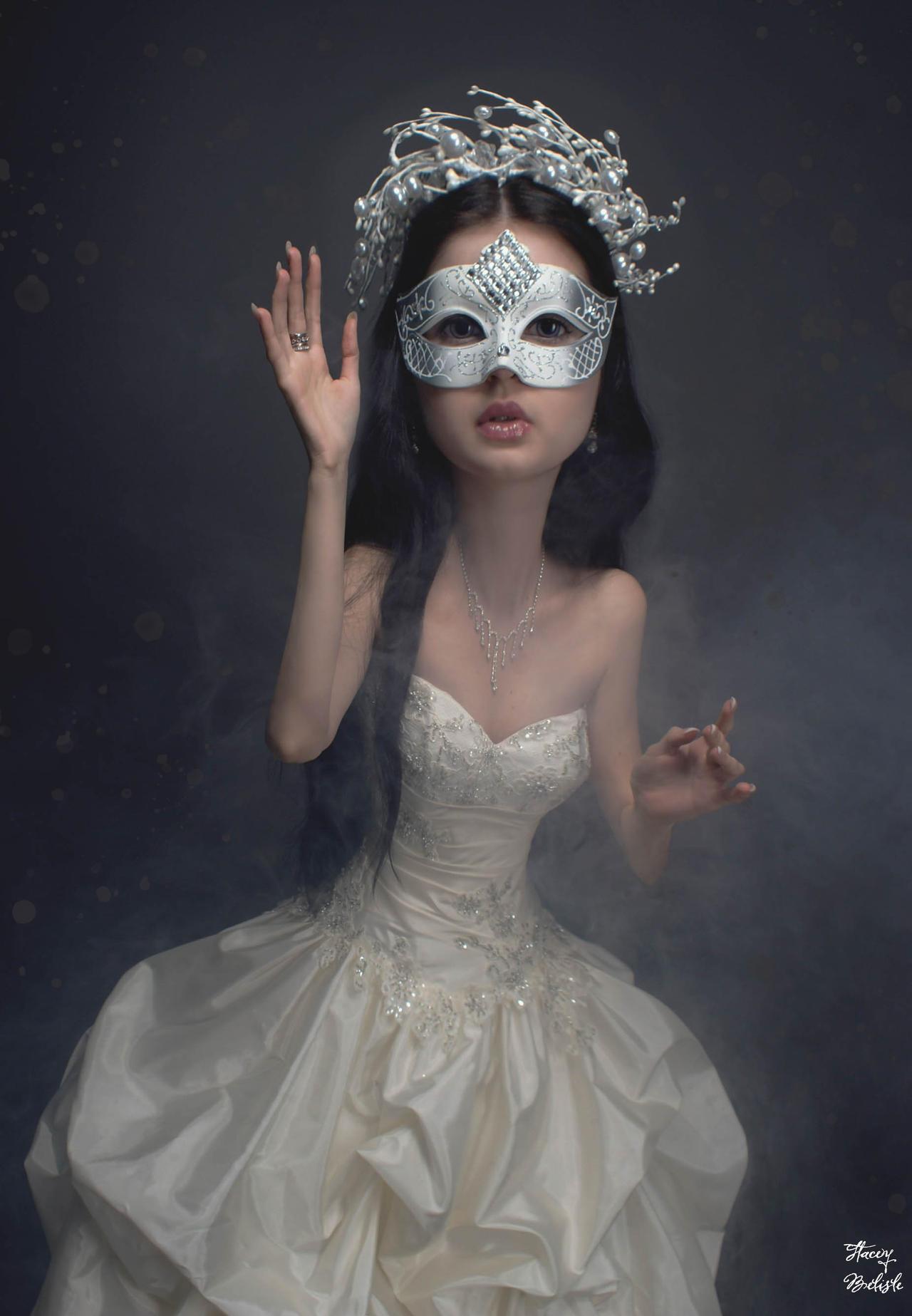 Peculiar portraits *Anett Frozen Ice Queen*
