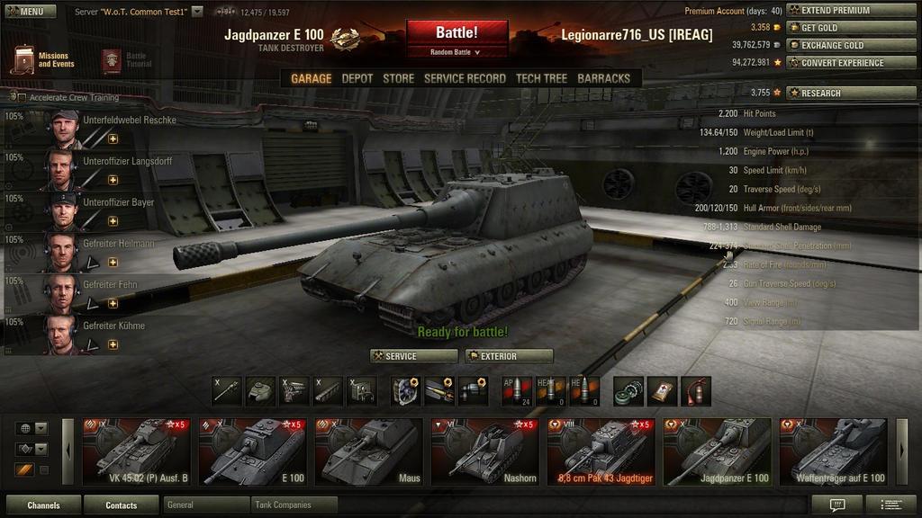 Image Gallery Jagdpanzer E 100