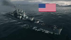 USS Cleveland class Light Cruiser