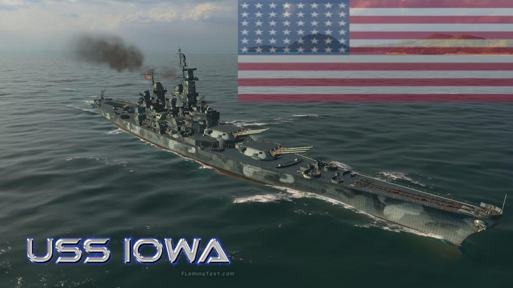 USS Iowa class Battleship by XLegion-716X on DeviantArt