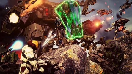 MAWLR 2.0 Warzone Boss Battle by XLegion-716X