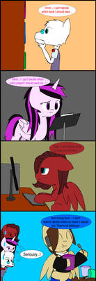 Star Singer 4koma - A boring day by Twistermon