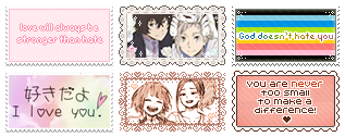 Amor Stamps
