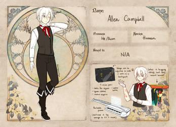 [Memory Keepers] Avatar - Allen