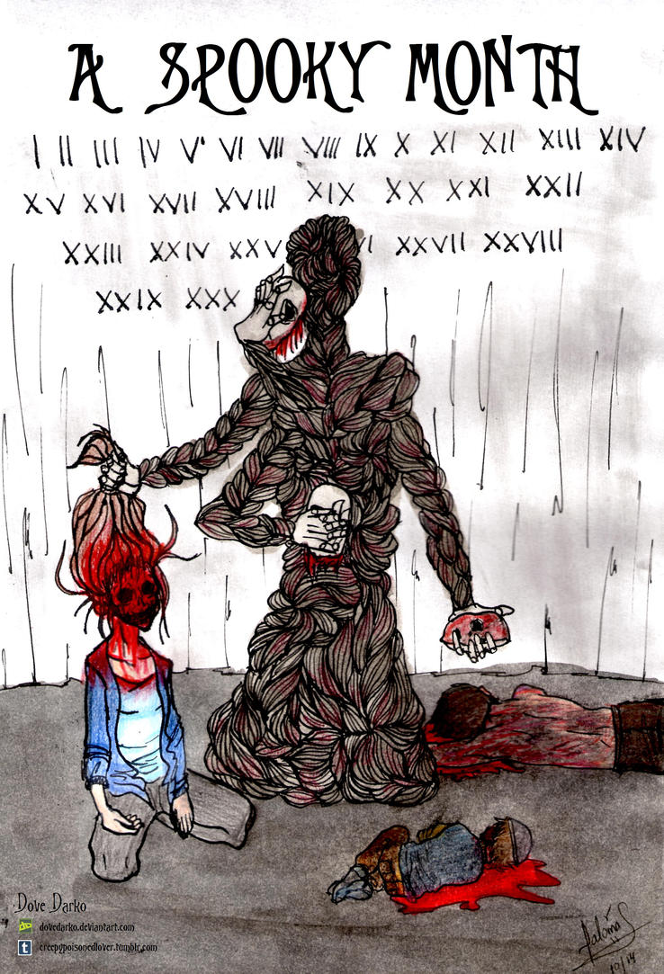 A Spooky Month by DoveDarko