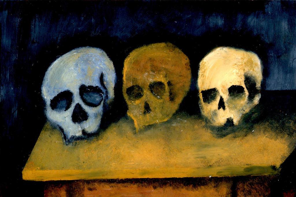 Shitty Skulls by DoveDarko