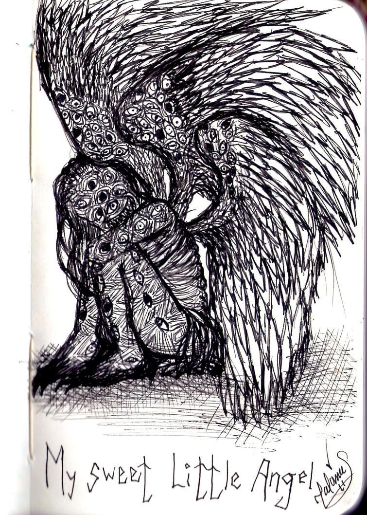 My Sweet Little Angel by DoveDarko
