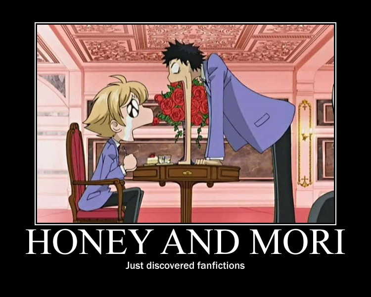 Ouran high school host club demotivational poster cosplayloxxy