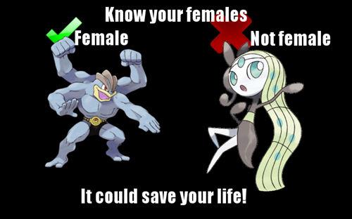Pokemon Gender