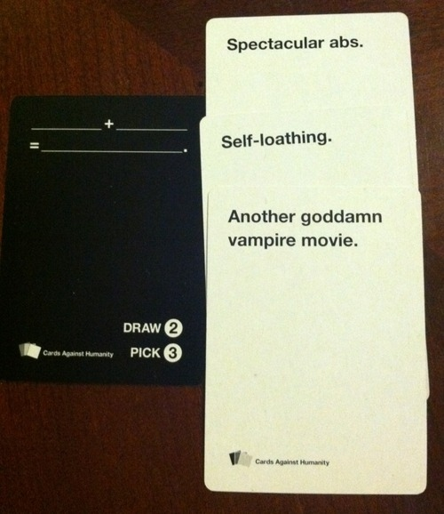 Cards Against Humanity Highlights By Scarecrow113 On Deviantart