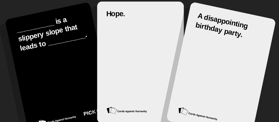 Cards Against Humanity Top 12 By Scarecrow113 On Deviantart
