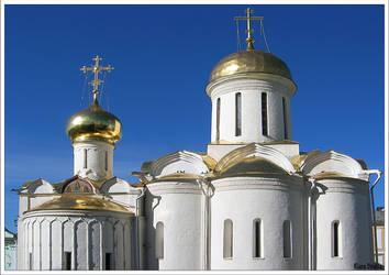 Church in Russia by KlaraDrielle