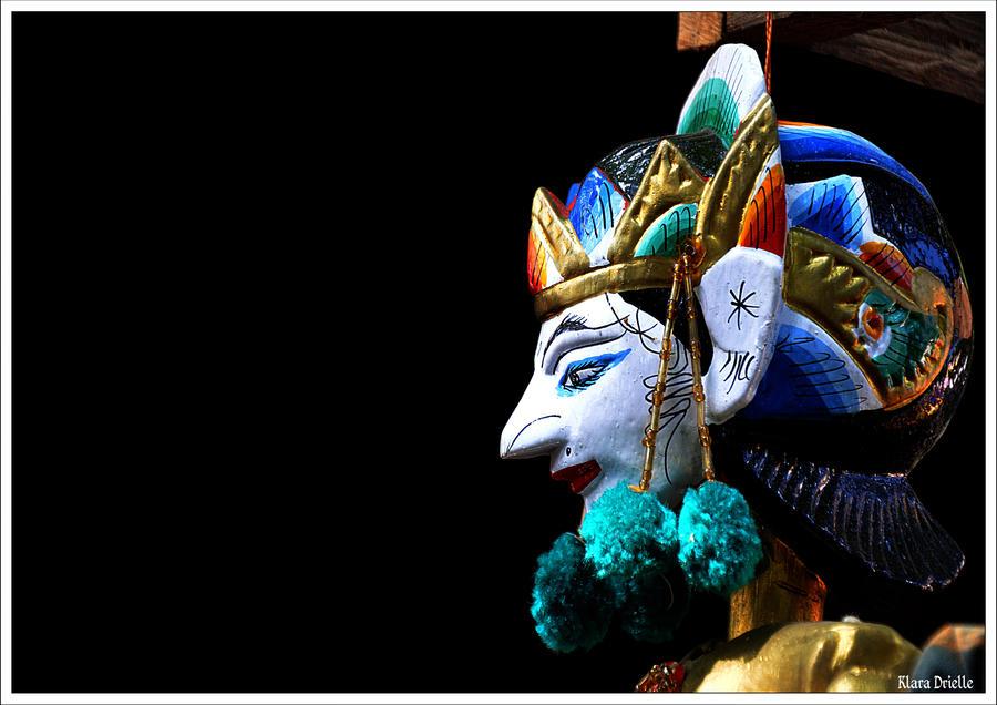 Balinese mask by KlaraDrielle